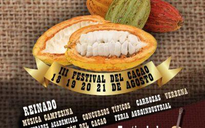 Lanzamiento del Tercer Festival del Cacao en San Vicente de Chucurí