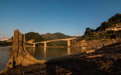 Se registra bajo caudal en el río Sogamoso en Santander