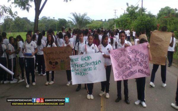 Gobernación asegura que cumple con la alimentación escolar en San Vicente de Chucurí