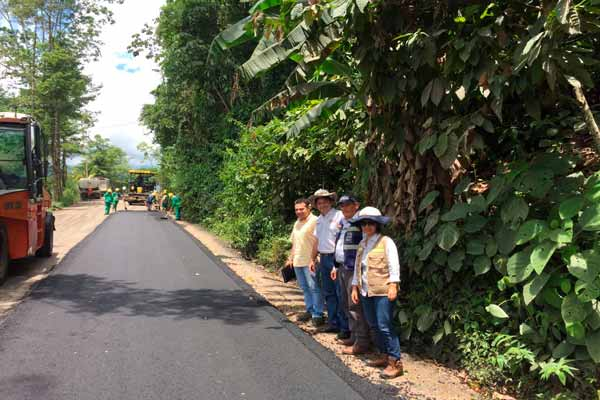 Mejoramiento de la vía San Vicente – Albania – Troncal Magdalena Medio avanza según lo programado
