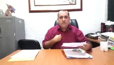 Diputado Chucureño Oscar Sanmiguel rechaza la no contrucción del parque del cacao en San Vicente de Chucurí