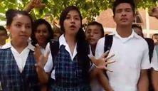 Dos colegios de San Vicente de Chucurí protestan por la alimentación