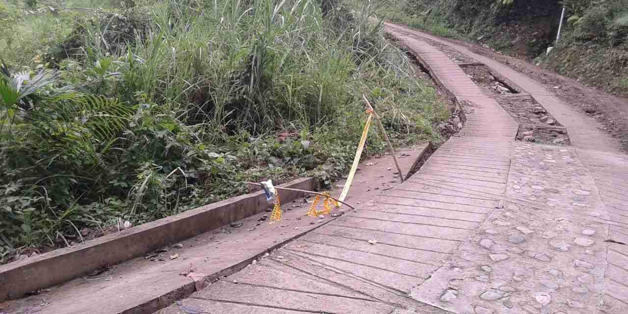 Habitantes del sector Morelia, La Germania y Cantagallos incomunicados por afectaciones en las vías