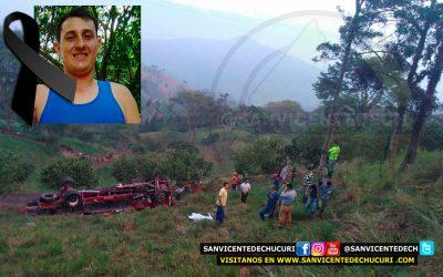 """Accidente sobre el sector """"La Plazuela"""" deja un saldo de 1 muerto y 3 heridos"""