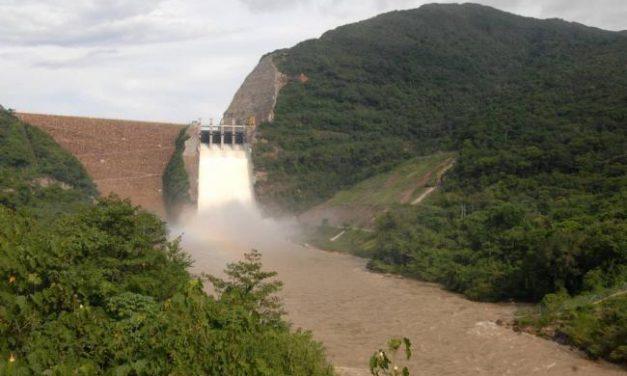 Nuevamente se presenta un aumento en el nivel del embalse Topocoro, por las afluentes de los ríos Sogamoso y Chucurí