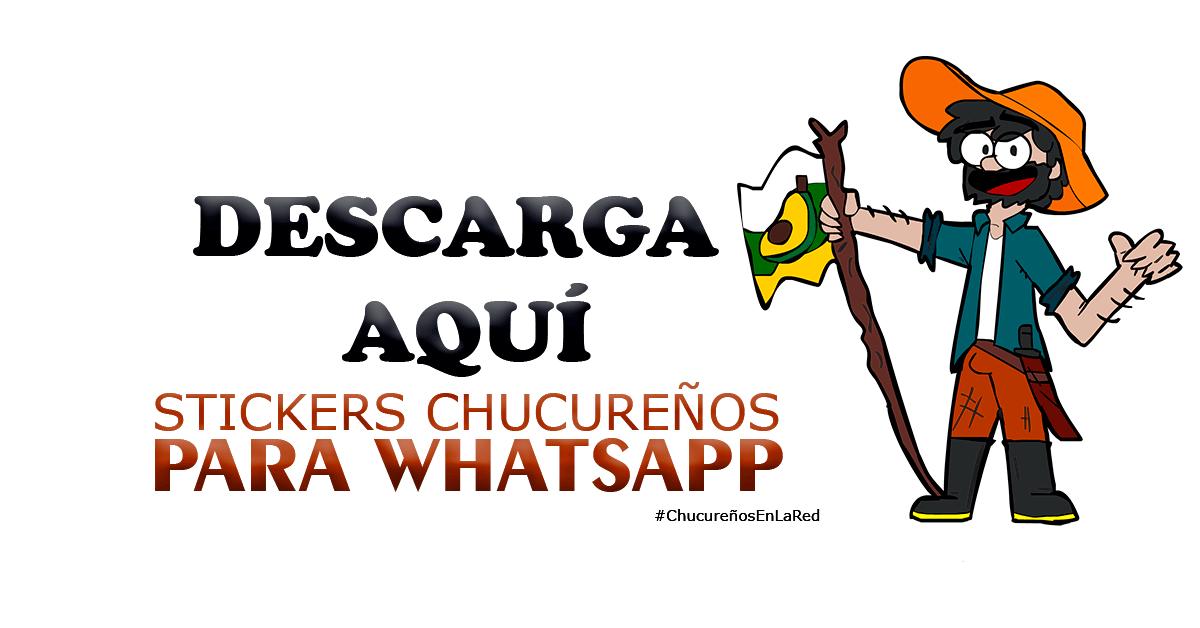 Stickers oficiales de Chucureño en la Red