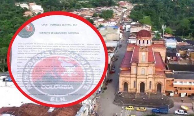 Policía desmiente supuesto panfleto del ELN que amenazaba con rearmarse en Santander