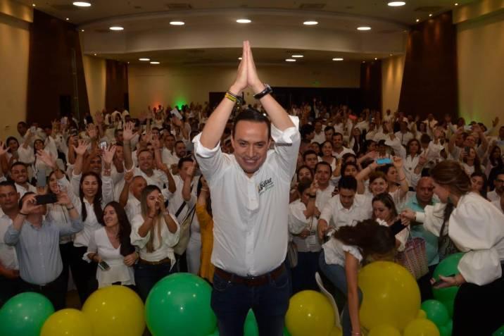 Con 380.178 votos, Nerthink Mauricio Aguilar Hurtado fue electo Gobernador de Santander 2020- 2023.