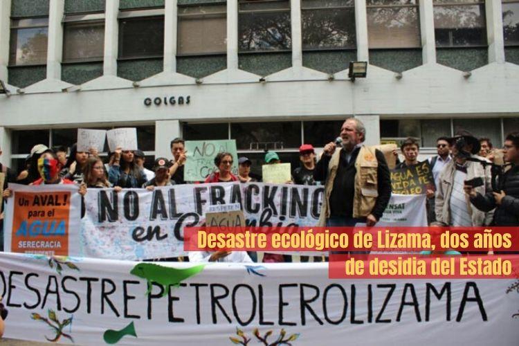Colombia. Desastre ecológico de Lizama, dos años de desidia del Estado