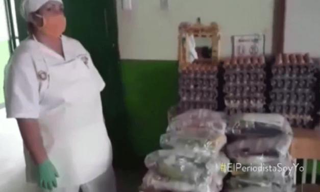 VIDEO -Denuncian que el PAE llega incompleto a San Vicente de Chucurí y no cumple minuta