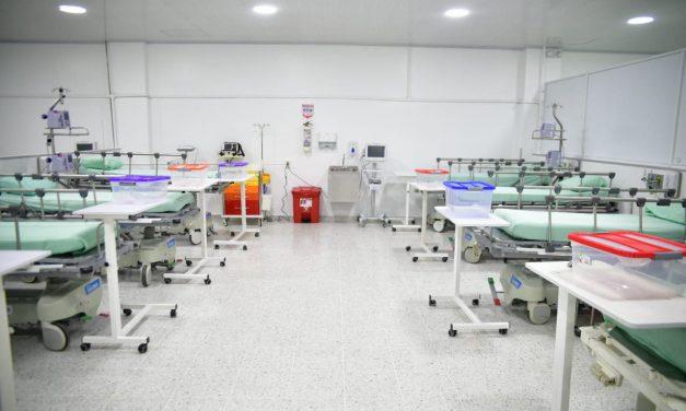 Nueva área con capacidad para atender a 110 pacientes con COVID-19 opera en Santander