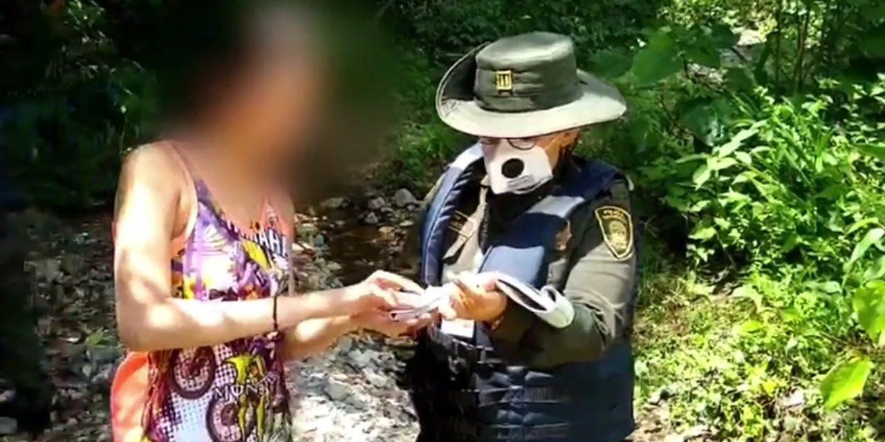 (VIDEO) Diez personas acampaban en Topocoro durante el toque de queda