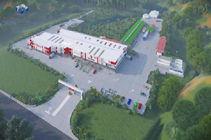 VIDEO. Avanza la construcción de una de las plantas de beneficio más grandes de Santander