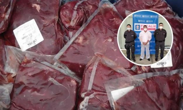 Carne de burro y caballo que daban en colegios de Santander tenía un químico para cambiarle el colo